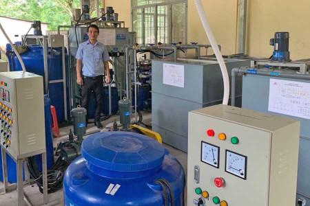 Cung cấp, lắp đặt mô hình công nghệ xử lý nước thải cho trường học