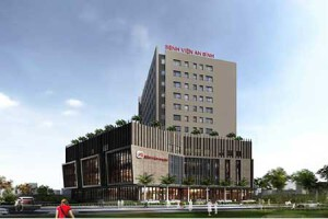 Waste water treatment plant - AN BINH Hospital