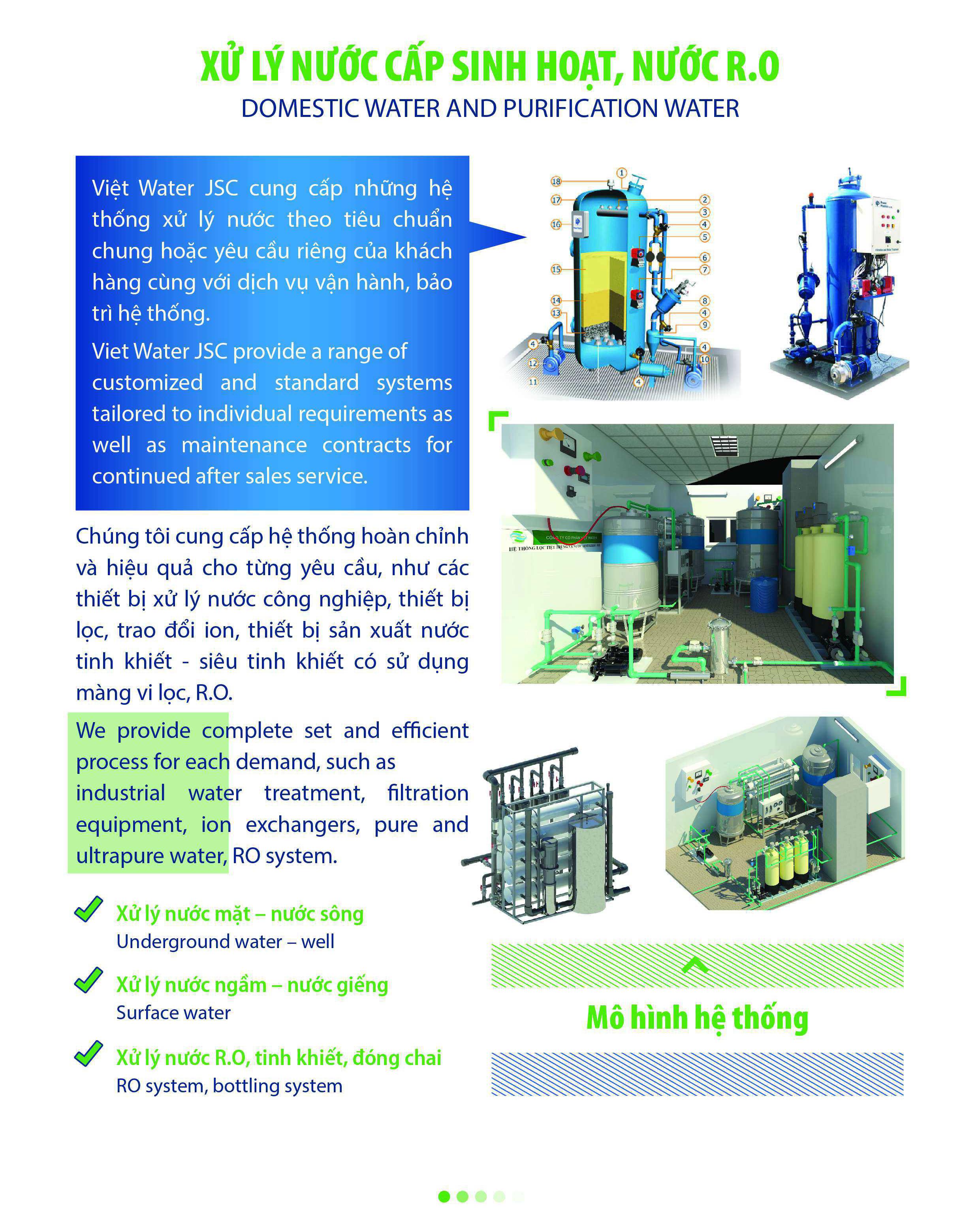 Công ty xử lý nước tinh khiết R.O
